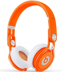 Наушники Monster Beats Mixr Neon Orange