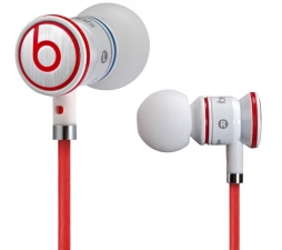 Наушники Monster iBeats with ControlTalk White