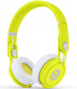 Наушники Monster Beats Mixr Neon Yellow