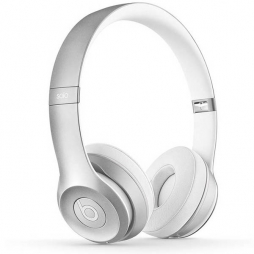 Наушники Monster Beats Solo2 Wireless Silver