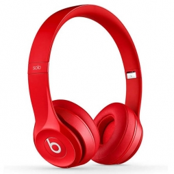 Наушники Monster Beats Solo2 Wireless Red