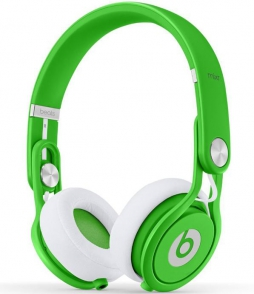 Наушники Monster Beats Mixr Neon Green