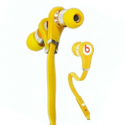 Наушники Monster Beats Tour ControlTalk Yellow
